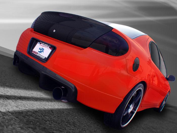 Dodge Charger Parts >> SRT-4 Carbon Fiber Rear Diffuser - Exterior - Neon SRT-4 Performance Parts | TurboNeonStore.com