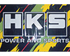 HKS Vinyl Banner : For Garage or House