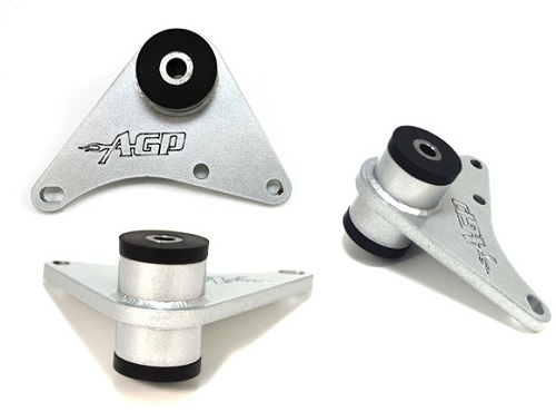 AGP Solid Transmission Mount- Neon SRT-4