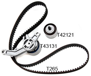 Gates 3pc Timing Belt Kit - Neon SRT-4