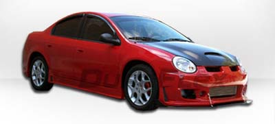 Extreme Dimensions Duraflex B-2 Side Skirts - 03-05 SRT-4