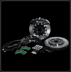 "KSport Dodge SRT-4 2003-2005 Front 15"" / 380mm SuperComp 8 Piston Big Brake Kit"