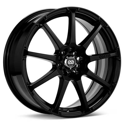 "Enkei EDR9 17"" Black Painted Rims Set of 4 - Neon SRT-4"