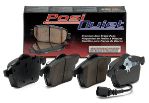 Centric Posi Quiet Semi Metallic Rear Pads - Neon SRT-4