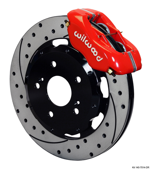Wilwood Forged Dynalite Big Brake Front Brake Kit (Hat) - Neon SRT-4