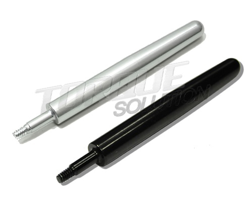 Torque Solution Silver Shorty Billet Radio Antenna - Neon SRT-4