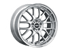 ASA AR1 SRT4 17x7 Rims Set : Silver w/Machined Lip