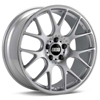 BBS CH-R Bright Silver w/Polished Stainless Lip Rims Set of 4 - Neon SRT-4
