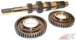 MFactory 3.000 1st & 2.050 2nd Gears (includes Mainshaft) - Straight Cut - PRO Series - Neon SRT-4